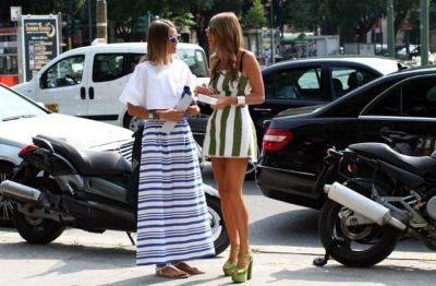 Style Guide: Boyfriend Stripes for Early Fall via @obaz
