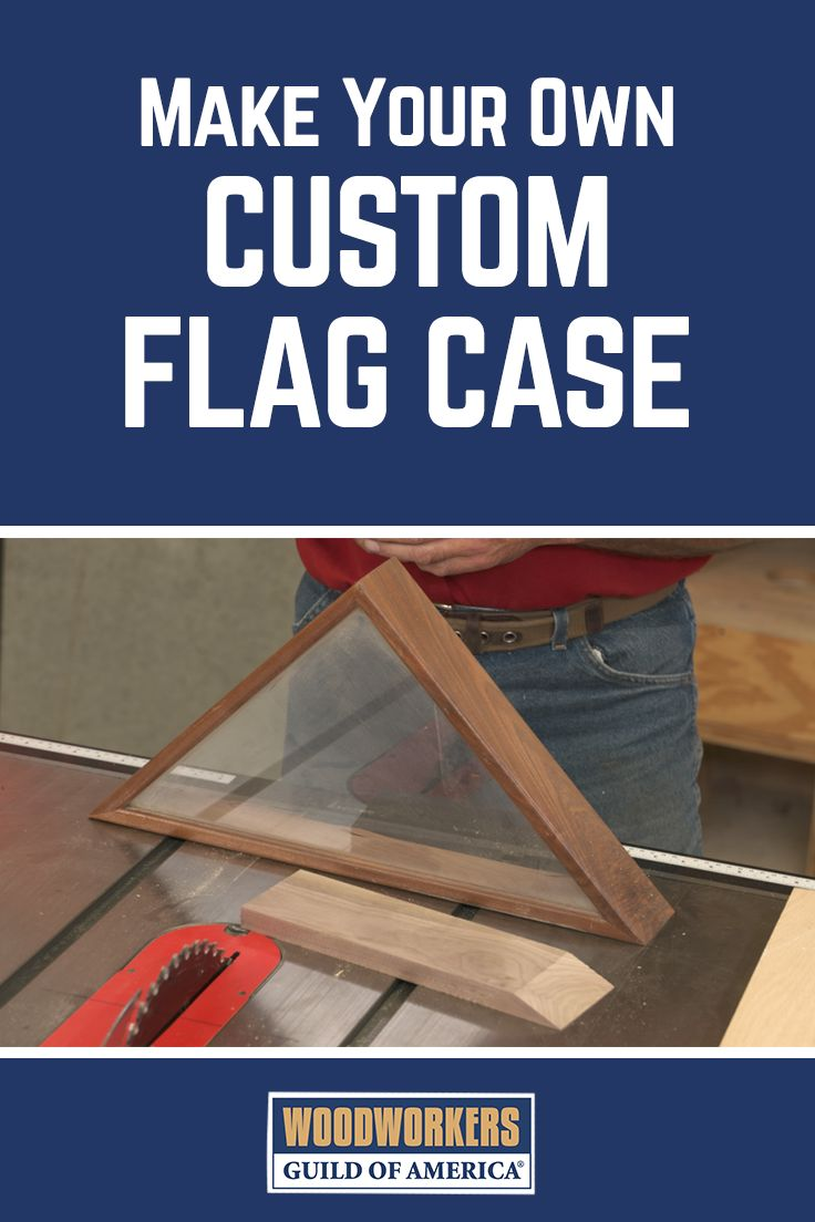 Cutting Precise Angles for a Custom Flag Case in 2019 ...