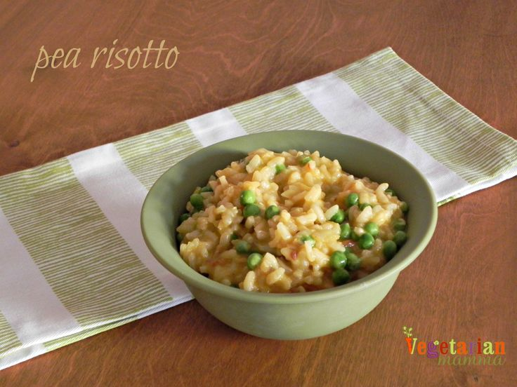 Pea Risotto – #glutenfree | Recipe | Glutenfree and Risotto