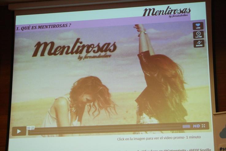 En #catasytuits, @ferclaro presentó su iniciativa @mentirosas. Un ilusionante proyecto