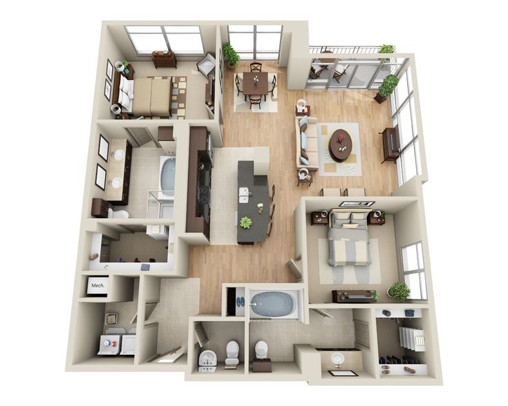 160 best planos images on Pinterest Small houses, Small homes and