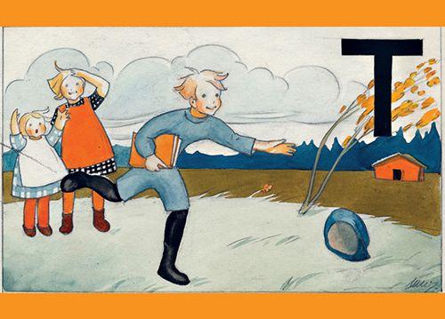 Martta Wendelin Aakkoset | Osastot | Korttien Talo