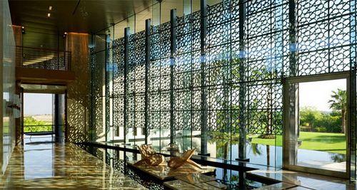 contemporary office with dark wood accients | Modern Islamic Interior Design Ideas Modern Islamic Interior Design ...