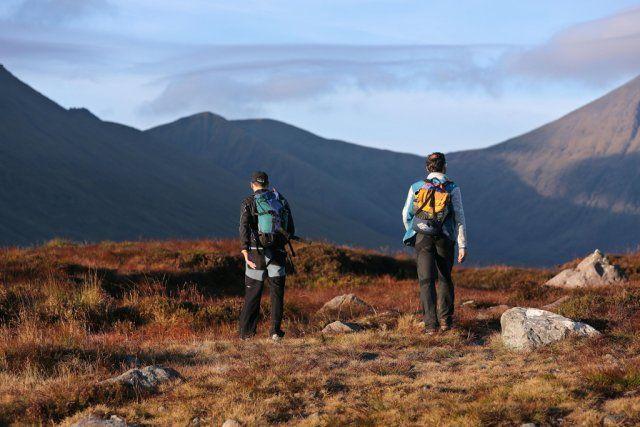 Randonnée dans le Parc National de Killarney, Kerry, Irlande