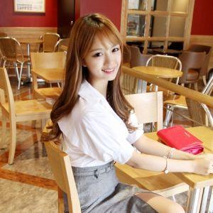Korea Womens Luxury Shopping Mall [mimindidi] bl_2058 grid / Size : S,M / Price : 48.18 USD #tops #blouse #cute #korea #fashion #style #fashionshop #apperal #luxury #lovely #mimididi