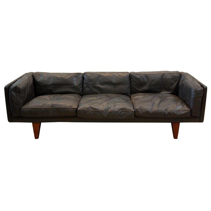 Illum Wikkelso 3-seater Sofa , Denmark 1960