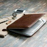 Macbook Pro 13 Sleeve, Brown Premium Quality Leather
