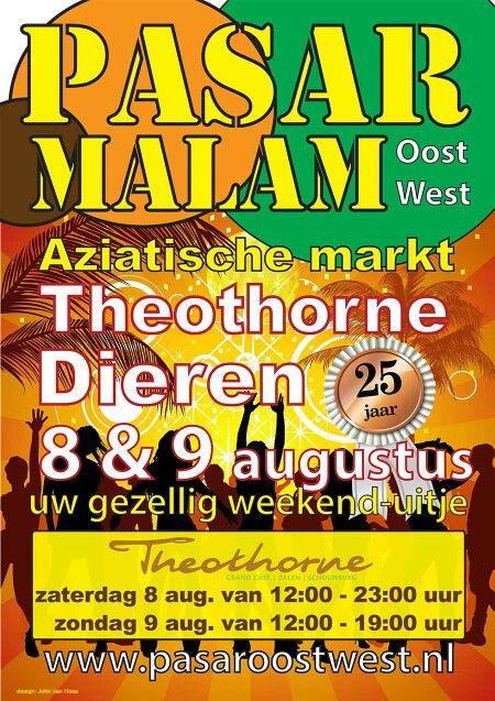 25 Jaar Pasar Malam in Dieren 8-9 augustus Sporthal Theothorne !