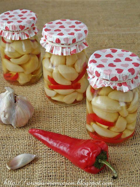 Czosnek marynowany // Pickled #garlic