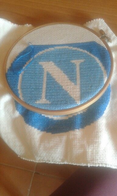 Wip Workinprogress Napoli crossstitch