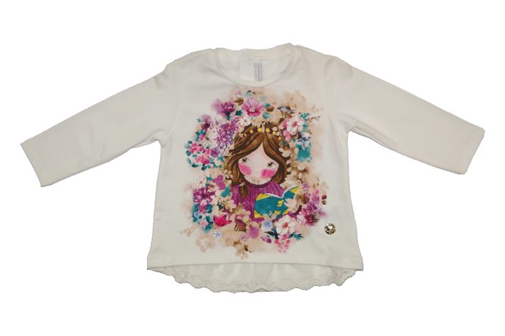 Ubranka Mayoral - bluzeczka z bawełny dla niemowląt - http://markoweubranka.pl/pl/p/Niemowleca-bluzeczka-marki-Mayoral/1091