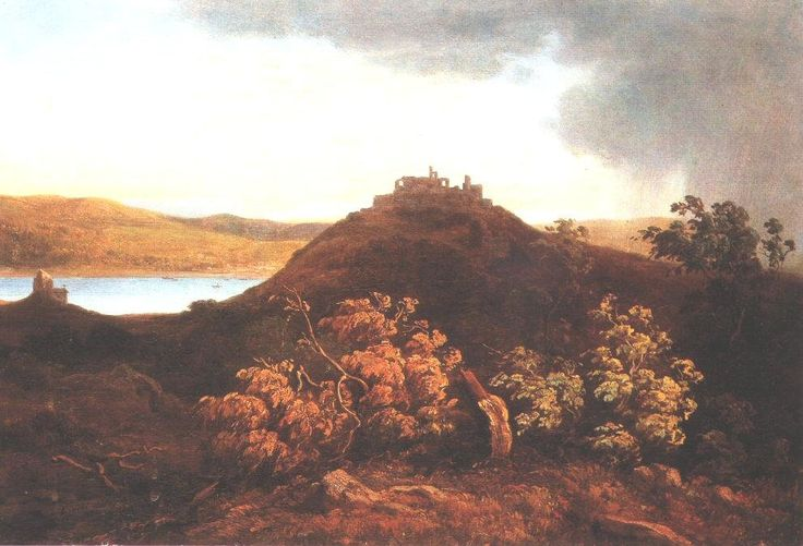 Visegrád de Antal Ligeti (1823-1890, Romania)