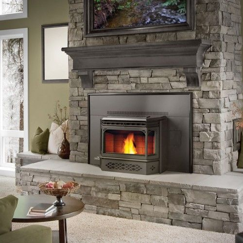 The NPI45 Pellet Stove Insert Napoleon® Fireplaces