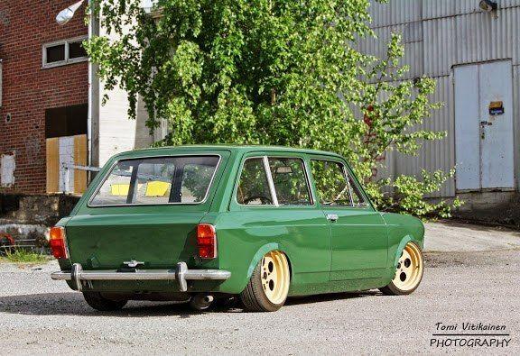 Fiat 128 Station Wagon | Lowered, Slammed, Stance