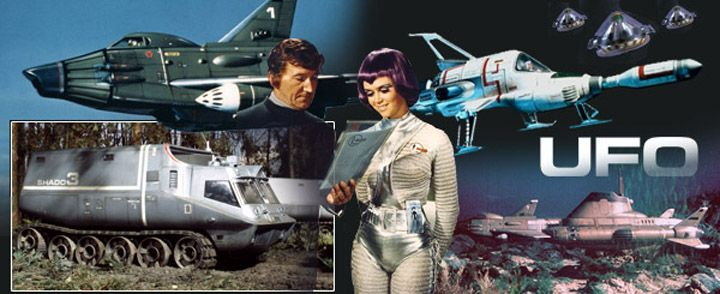 UFO TV series yep watched it..in reruns