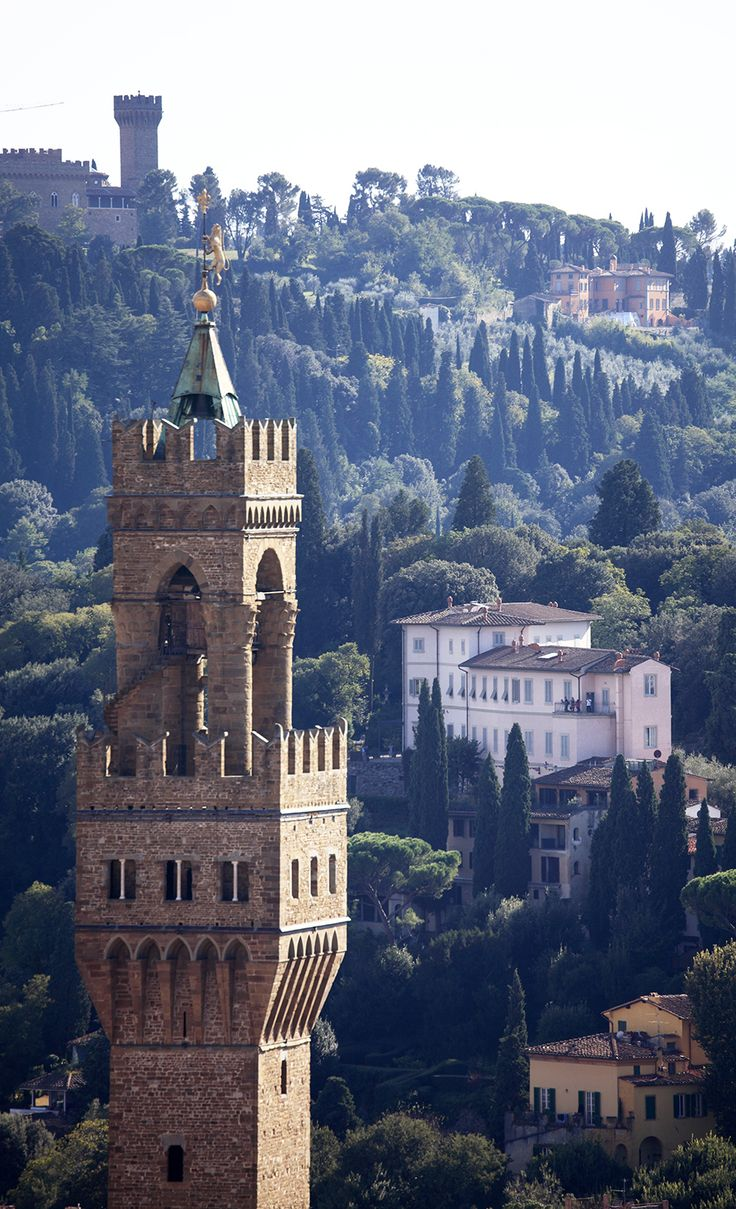 Tower of the Palazzo ~ Florence, Italy via Condé Nast Traveler