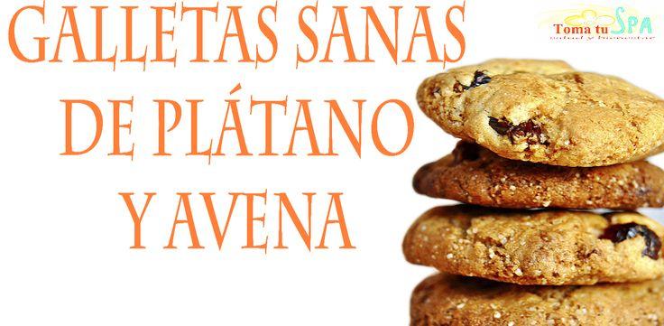 ✬ Galletas sanas de plátano y avena ✬ #Recetas #Galletas #Plátano #Avena #Nutrición #TomaTuSpa Amig@s les comparto esta receta super fácil de hacer, se trata de unas galletas de plátano y avena deliciosas, además de saludables y bajas en calorías. Apunta la receta....