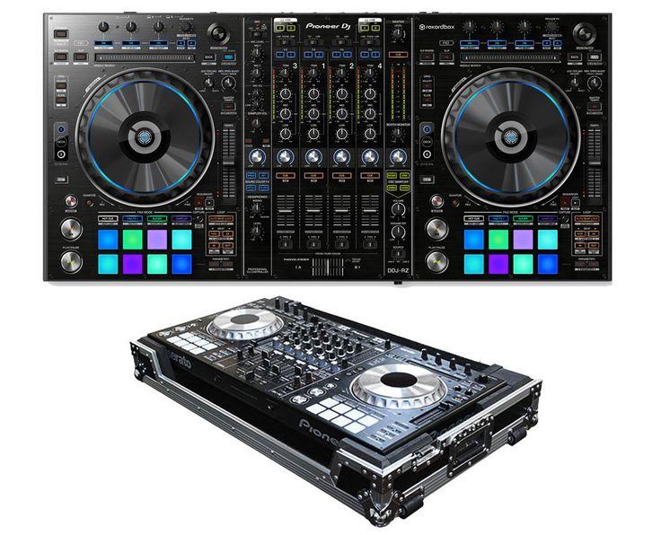 Pioneer DDJ-RZ 4-Channel RekordBox DJ Controller USB Sampler DDJRZ Odyssey Case