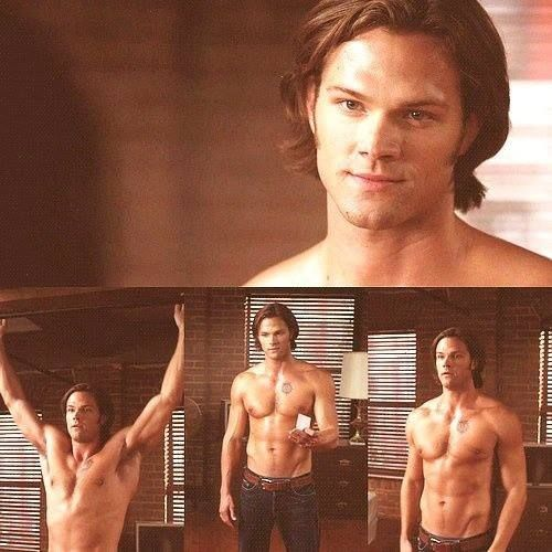 Granted he was soulless at the time, but ... Look. Look at him. LOOK AT THE PERFECTION OF SAM WINCHESTER.