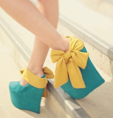 : Colors Combos, Fashion Shoes, Photos Ideas, Wedges Shoes, Girls Fashion, Girls Shoes, Big Bows, Baby Photos, Bows Shoes