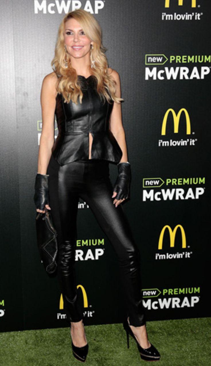 Call the fashion police! Brandi Glanville