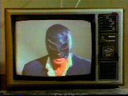 Santo vs. The Television Killer (1981) $19.99; aka: Santo Contra El Asesino De Televisión; Stars El Santo, Gerardo Reyes, Rubi Re, Carlos Agostí and Carlos Suárez. (In Spanish language).
