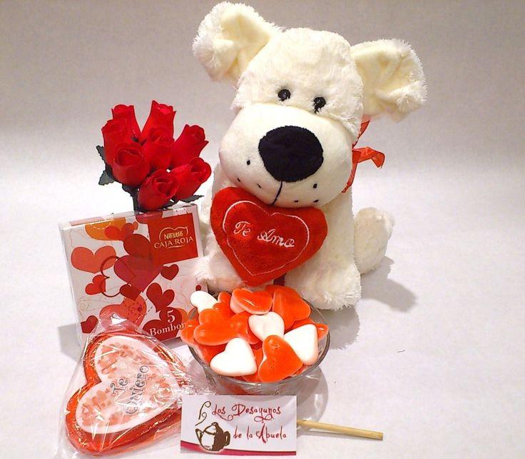 Regalo original San Valentín corazones románticos