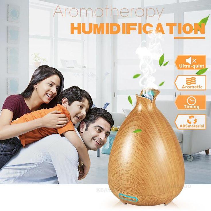 Air Humidifier Essential Oil Diffuser