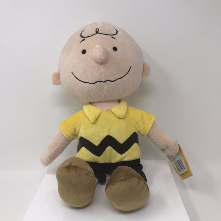Kohl's Cares for Kids Plush Charlie Brown 15 Inches Length Stuffed Animal Toy #KohlsCaresforKids