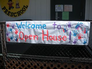 Great example of a preschool open house