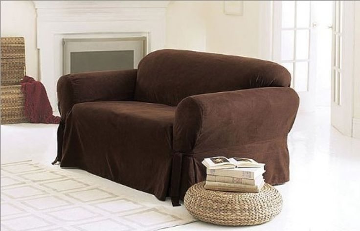 Chocolate Brown Couch Covers
