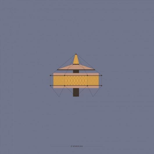 The Dymaxion House / Buckminster Fuller. Image © Xinran Ma