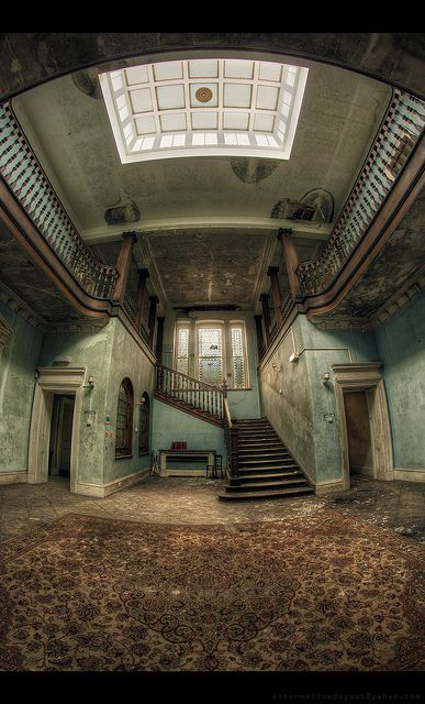 Lost | Forgotten | Abandoned | Displaced | Decayed | Neglected | Discarded | Disrepair |  - staircase, The Arrival by AlternativeDayOut, via Flickr