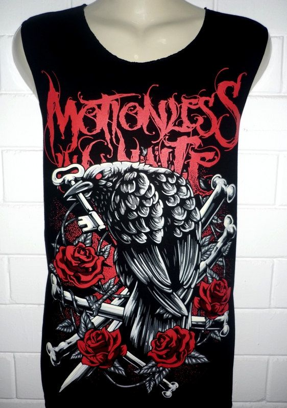 Motionless in White Rock Band Music Metal T Shirt Tank Top Singlet Vest Sleevless One Size Fits All