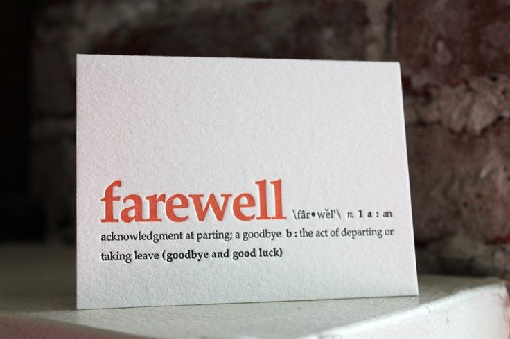 1000+ images about Cards, goodbye on Pinterest | Good luck ...