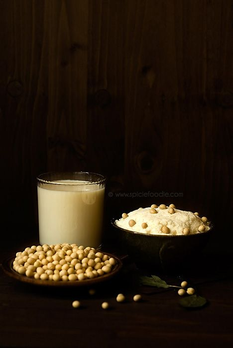 Homemade Soy Milk or How To Make Soy Milk | Recipe by Spicie Foodie