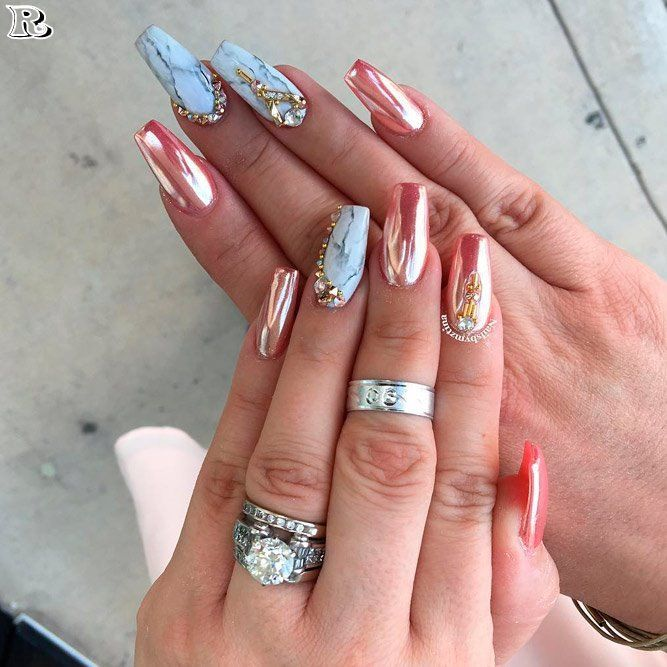 35 Acrylic Nails Designs And Ideas 2018 Reny Styles Nails Nail
