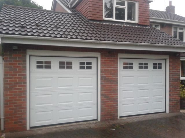 New Automatic Garage Doors Grantham – Sectional – Garage