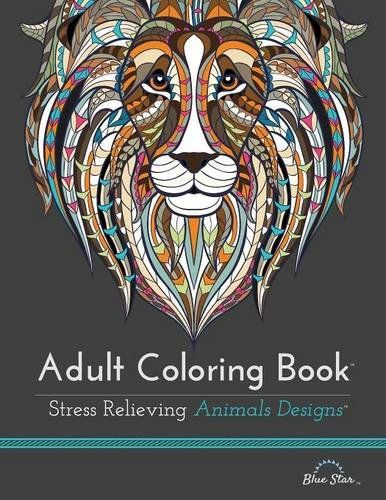 Fishpond Australia Adult Coloring Book Stress Relieving Animal Designs By Artists Illustrated Buy Books Online