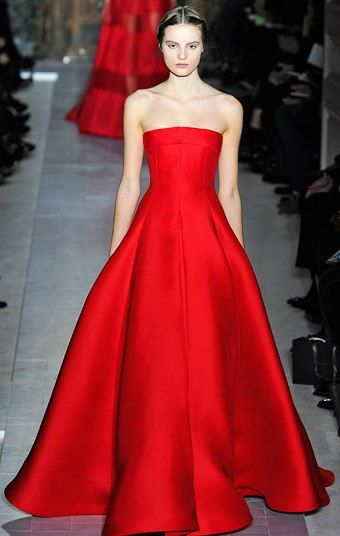 The Valentino Red - Valentino 2013.   what I would wear if I was a movie star. Maybe in black or a deep navy.