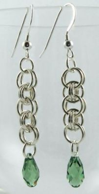Parallel Chain Earrings AS (Beginner)