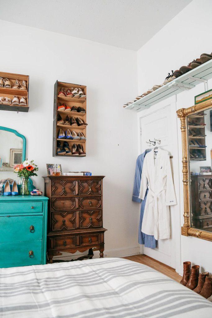 Home // Prosecco & Plaid Bedroom Decor