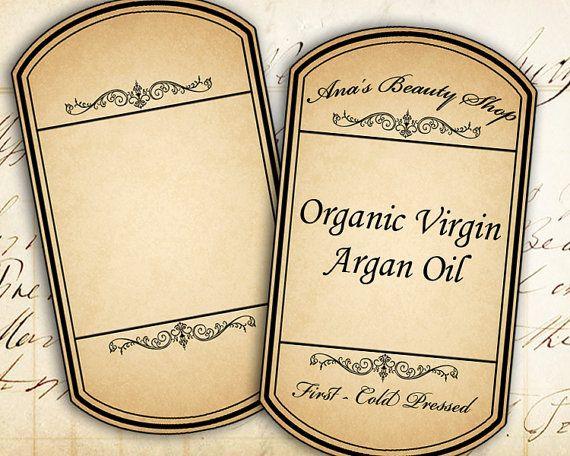 Hoja en blanco boticario botella tarro etiquetas etiquetas