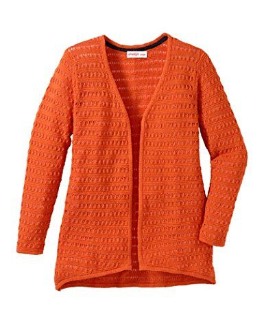 Sheego Damen Strickjacke Mandarin: Amazon.de: Bekleidung