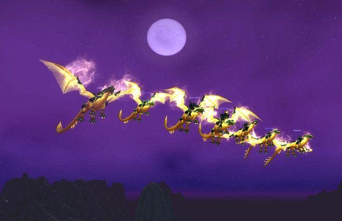 Derzeit fließen die Tränen im Forum des MMORPGs World of Warcraft: Blizzard hat ein Flugverbot für Mounts in der Welt Draenor und für alle kommenden Addons verhängt. Das Leben der WoW-jünger scheint zu Ende zu sein...  https://gamezine.de/flugverbot-in-world-of-warcraft-kriegt-euch-wieder-ein.html
