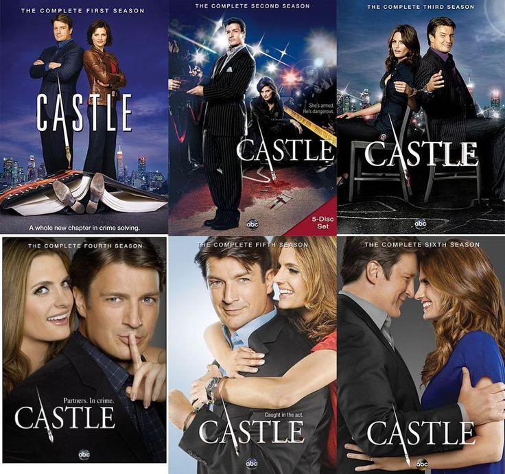 Castle Seasons 1-6 DVD Set $69.99