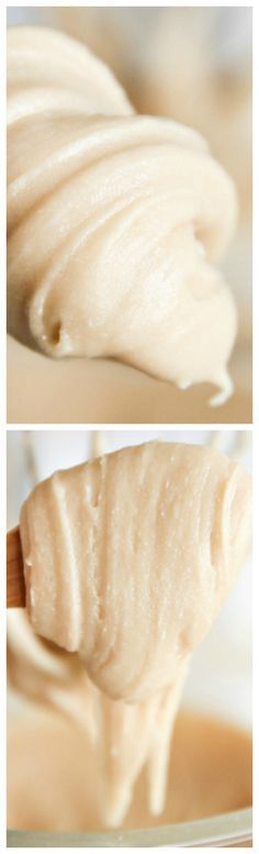 Brown Sugar Caramel Frosting ~ It's so rich and caramel-y and you can drench it over so many things.