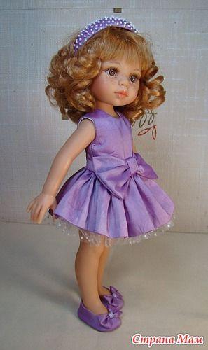 Платье к туфелькам - Куклы Paola Reina и Nicoleta - Страна Мам