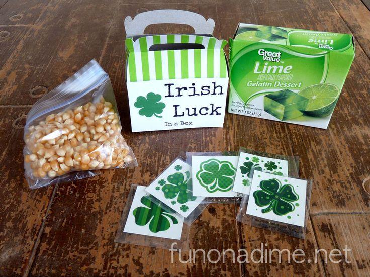 St. Patrick's Day Irish Luck Kits aka Pinch Protection Kits
