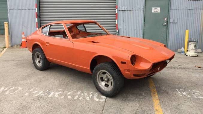 1972 Rolling Shell Project Missoula Mt Nissan Z Cars Datsun Datsun 240z